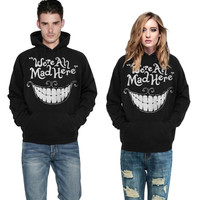 EAST KNITTING F1395 2015 Autumn Style New Fashion Black Men's Sweatshirt