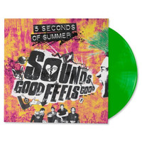 "5SOS Sounds Good Feels Good Green 12"" Vinyl"