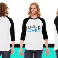 I am legend wait for it dary American Apparel Unisex 3/4 Sleeve T-Shirt