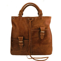 Brown Leather Tote Bag-Shopper-computer-Ipad-MacBook Bag-Shoulder-Handbag- Leather Satchel /Briefcase/Leather bag purse/handbags Bags