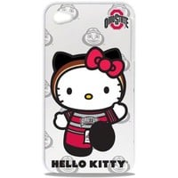 Tribeca Gear FVA7017 Hard Shell Case for iPhone 4 -  Hello Kitty - Ohio State University - 1 Pack - Retail Packaging - White
