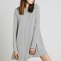 Womens Striped Elise Dress