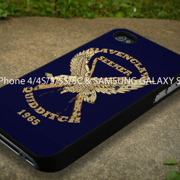 Harry Potter Ravenclaw Seeker Fine Art Case Fit For iPhone 4/4S/5/5C/5S and Samsung Galaxy S3/S4
