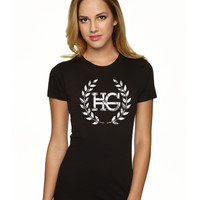 Hayes Grier Hayes Grier Lace Logo Tee - BLV Brands