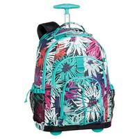 Gear-Up Graphic Flower Sketch Rolling Backpack