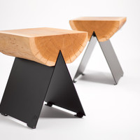 '1/2' stool by WITAMINA D PROJEKT made in Polen on CrowdyHouse