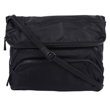 Christopher Kon Nylon Foldover Crossbody