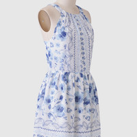 Silverbell Floral Dress