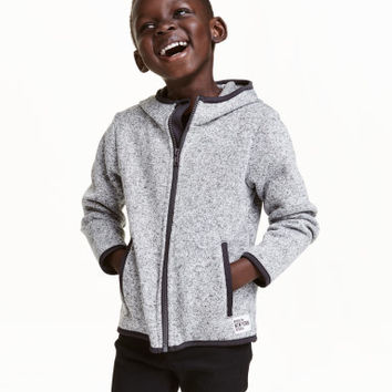 H&M Knit Fleece Jacket $12.59