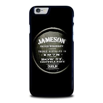 jameson whiskey iphone 6 6s case cover  number 1