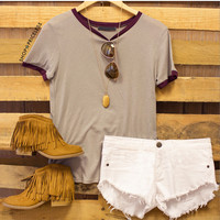 Helio Top - Taupe