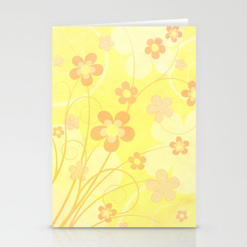 Summer floral Stationery Cards by EDrawings38