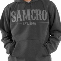 Sons Of Anarchy Pullover Hoodie - Samcro 1967 Charcoal