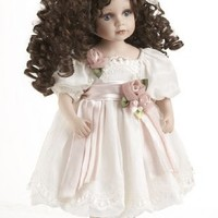 "Delton Products ""Brianna"" Porcelain Doll, 18"""