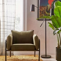 Howell Canvas Arm Chair   Urban Outfitters