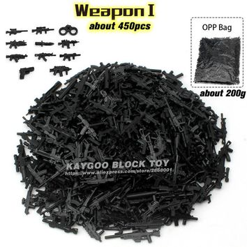 Building Blocks DIY Military Series Swat Police Gun Weapons Pack Army Brick Arms For City Police Batman Best Children Gift Toys