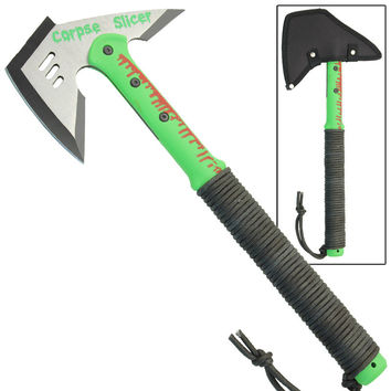 Zombie Corpse Slicer Combative Tactical Battle Axe