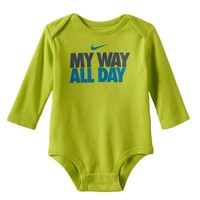 Nike ''My Way All Day'' Bodysuit - Baby Boy, Size: