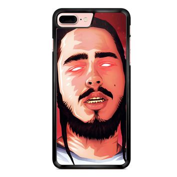 Post Malone Art iPhone 7 Plus Case