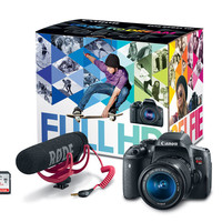 EOS Rebel T6i Video Creator Kit 18-55mm IS STM Lens, Microphone & 32GB SDHC Card