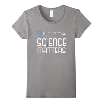 Oklahoma Science Matters Sooner State Youth Adult Tee Shirt