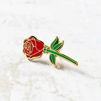 Big Bud Press Red Rose Pin - Urban Outfitters