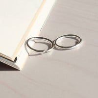 The Latest Sterling Silver Small Thin Endless Hoop Earrings Round USHLS