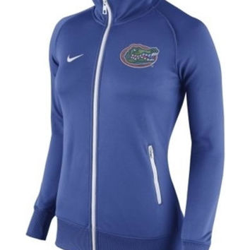 NCAA Florida Gators Nike Women's Royal Stadium Classic Full Zip