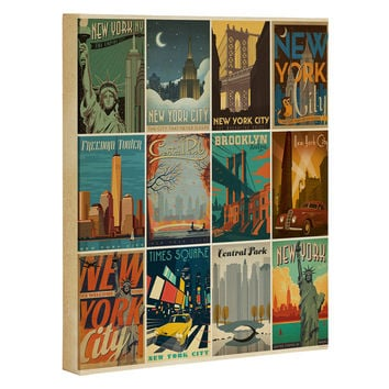 Anderson Design Group New York City Multi Image Print Art Canvas