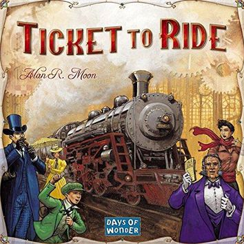 Ticket To Ride Board Game | A Railroad Adventure