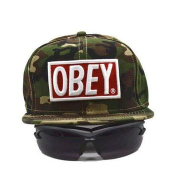 DCCKL7H Obey Giant Women Men Sports Sun Hat Hip Hop Embroidery Baseball Cap Hat