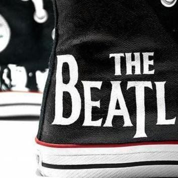 ICIKGQ8 the beatles converse all star shoes