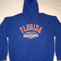 NCAA Florida Gators Athletic Department Blue Hoodie