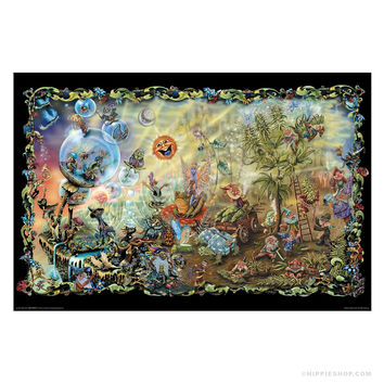 Michael DuBois Dream Combo Poster on Sale for $7.99 at The Hippie Shop