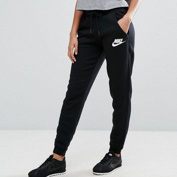 nike fashion women casual sport pants sweatpants-2