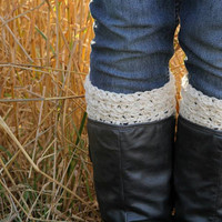 Crochet Pattern for Star Stitch Boot Cuff Legwarmers in multiple sizes - Welcome to sell finished items