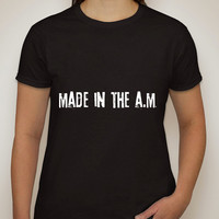 """One Direction """"Made in the A.M."""" T-Shirt"""