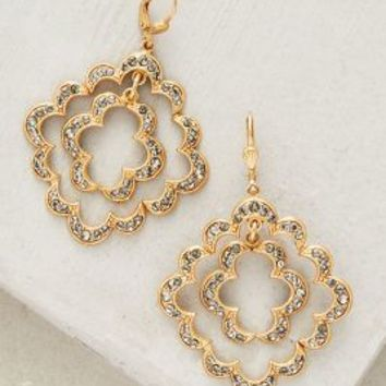 La Vie Parisienne Sunniva Earrings in Gold Size: One Size Earrings