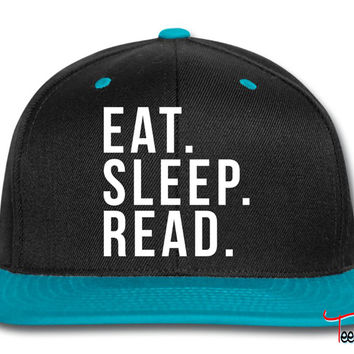 Eat sleep read Snapback