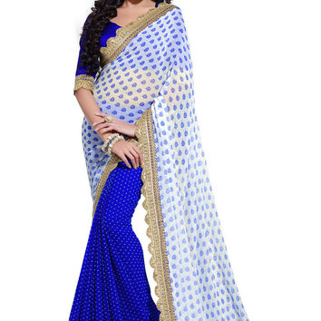 Elegant and Royal Exclusive Designer Saree D-204