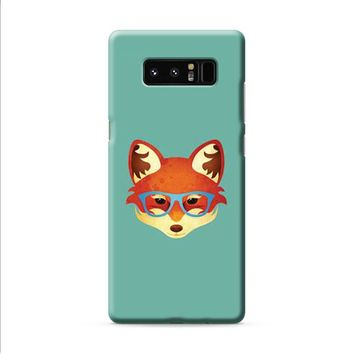 Fox With Glasses Samsung Galaxy Note 8 case