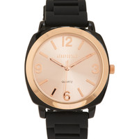 Aeropostale  Solid Rubber Watch