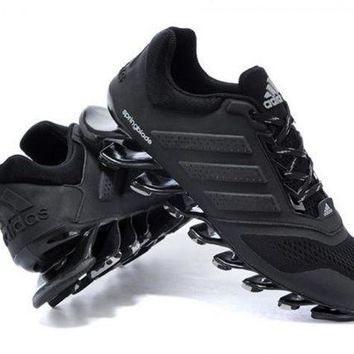 DCCKSU9 Adidas: men and women running shoes blade suspension spring movement