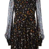 Alexander Mcqueen 'obsession' Print Dress - Spinnaker Sanremo - Farfetch.com