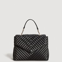 Quilted chain bag - Women | MANGO USA