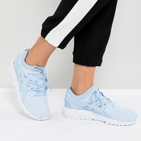Asics Gel-Kayano Trainer Knit Trainers In Sky Blue at asos.com