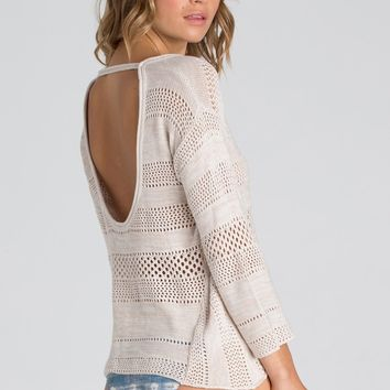 Billabong - Fallen for You Sweater | Cool Whip Heather