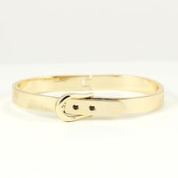 GOLD BELT BUCKLE BANGLE BRACELET