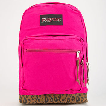 Jansport Right Pack Expressions Backpack Cyber Pink Leopard One Size For Women 24760843501