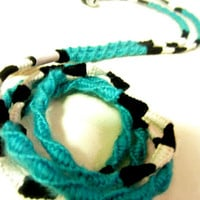 Wrapped Earbuds / Tangle Free Headphones 'Wonderland' By Wrapture Designs